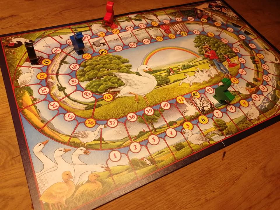 Nostalgisch spel - Oud Hollands Ganzenbord