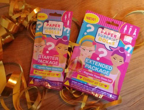 Paper Surprise Dolls Unboxing en Review