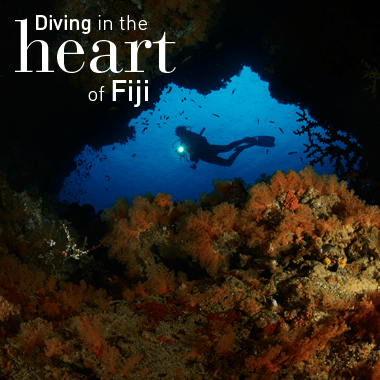 Diving with Ra Divers at Volivoli Fiji