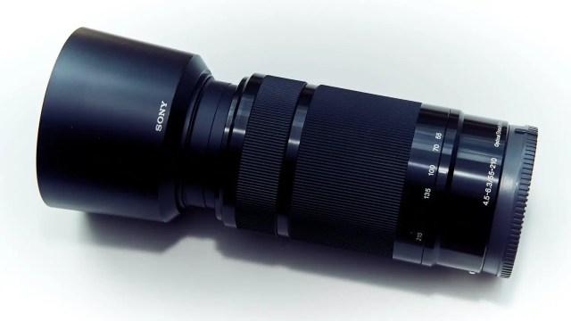 Teleobjektiv SEL55210 für Sony Alpha 6000 und E-Mount