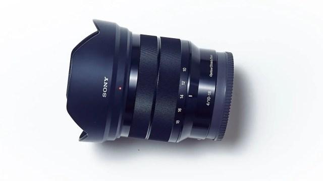 Sony 10-18mm F4 Ultra-Weitwinkel-Zoom-Objektiv