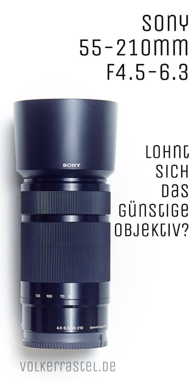 Sony SEL55210 Objektiv
