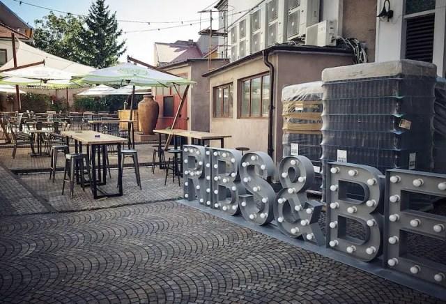 Sibiu Hermannstadt - Brauerei Ribs & Beer