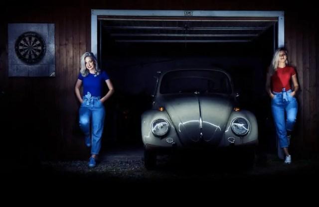 Produktfotografie: Oldtimer Käfer