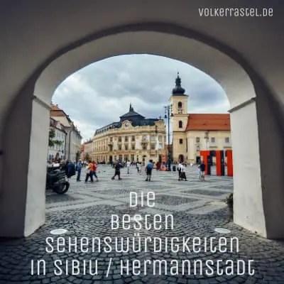 Sehenswürdigkeiten in Sibiu Hermannstadt