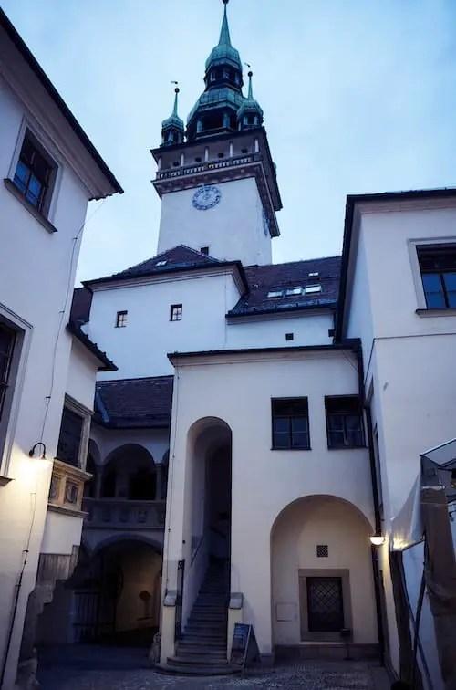 Brünn - Das Alte Rathaus und der Rathausturm