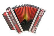 """Steirische Harmonika Alpen Classic """"Shadowred"""" F b es as"""