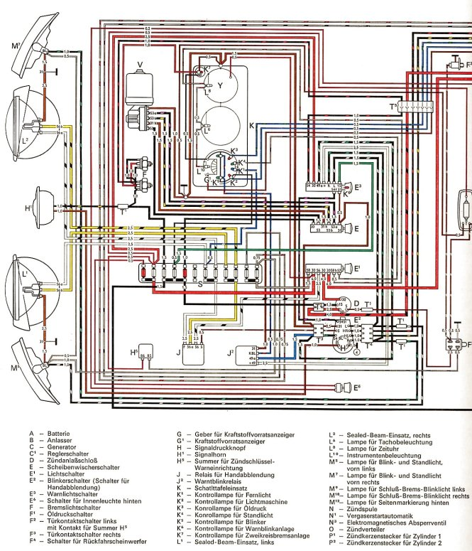 1972 vw beetle wiring schematic wiring diagram 1964 type 3 vw wiring diagram home diagrams