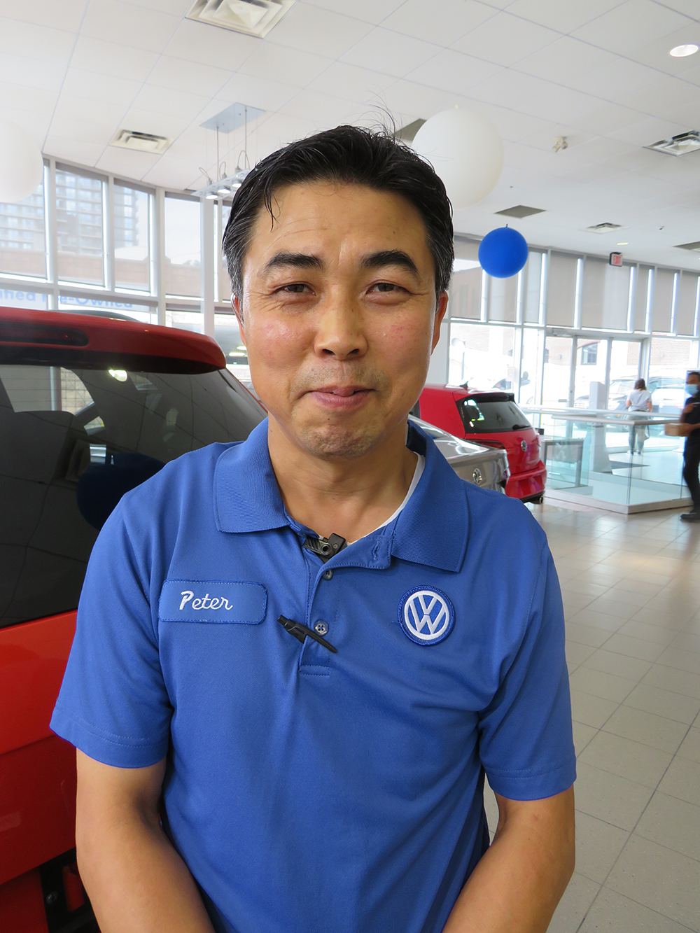 Peter Cho - Service Lot Supervisor