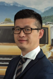 Roy Liu - Financial Services Manager
