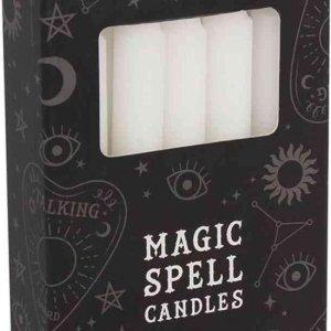 Magic Spell kaarsen wit