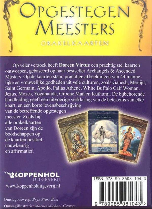 Opgestegen meesters orakelkaarten