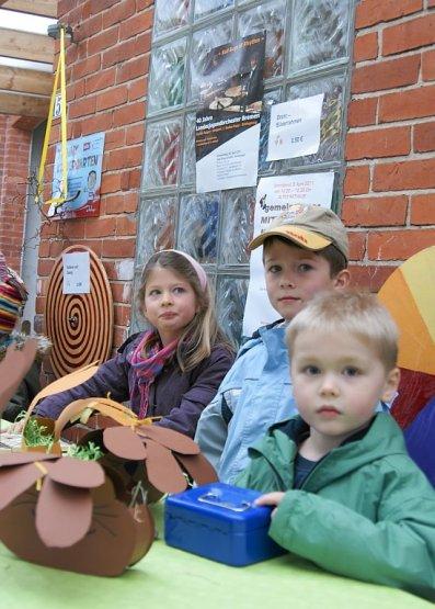 Frühlingsmarkt Kindergarten Arche gute Geschäfte