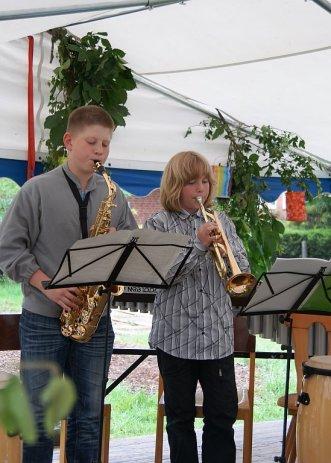 Benefizkonzert Freie Schule Lübberstedt Johannes und Kilina