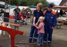 Sommerfest Feuerwehr Kuhstedt Wasserspiele