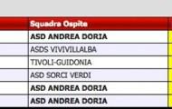 Calendario Torneo U12 Misto Girone I