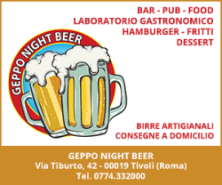 Geppo Night Beer - Tivoli