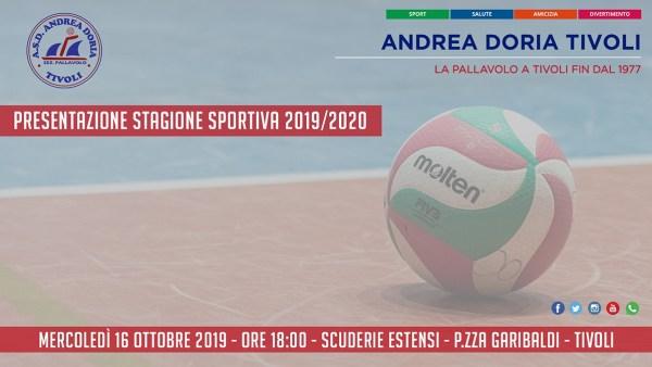 Andrea Doria Tivoli - Presentazione Stagione Sportiva 2019