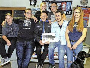 Das Team des AJZ Wyhl hofft auf viele Unterstützer beim Ehrenamtswettbewerb des Landes. Foto: Jürgen Schweizer