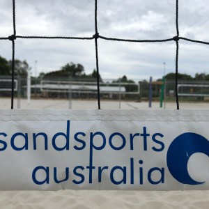 Sandsports Custom Log Print Net