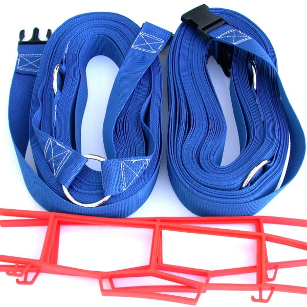 Beach Volleyball 2 Inch Webbing Court Boundary Line Blue
