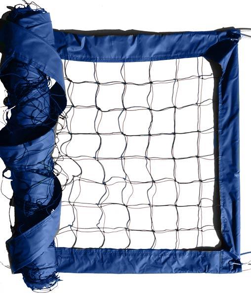 Blue Advanced Outdoor Volleyball Net