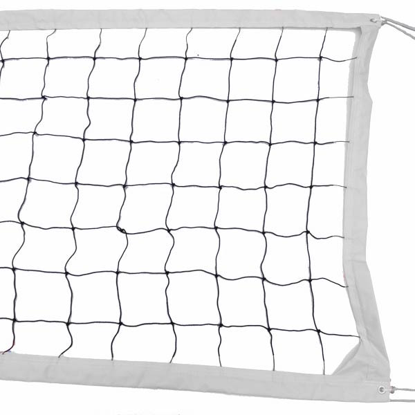 White Intermediate Outdoor Volleyball Net