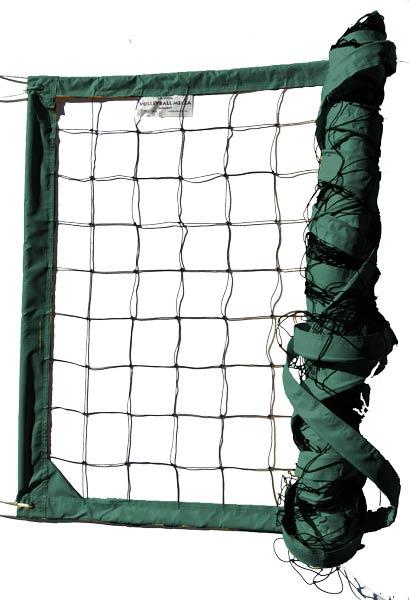 Dark Green Power Outdoor Volleyball Net