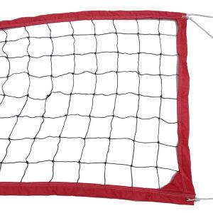 Red Recreational Outdoor Volleyball Net