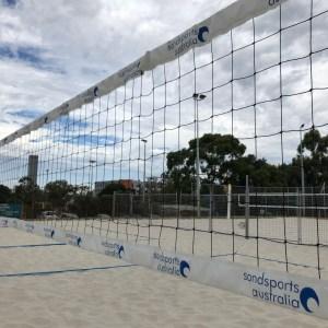 Custom Logo Print Tourney Director Volleyball Net