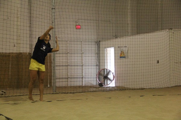 Volleyball Court Perimeter Netting