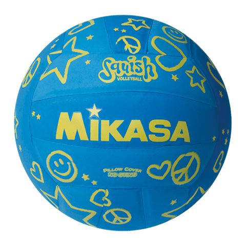 Mikasa Squish VSV106 Blue Pool Volleyball