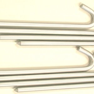 16 Inch Steel Guyline Anchor Stakes