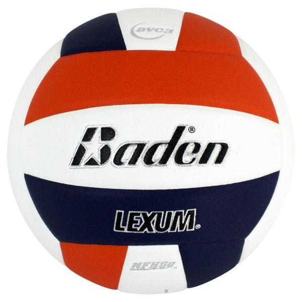 Baden Lexum Microfiber Volleyball Orange White Navy
