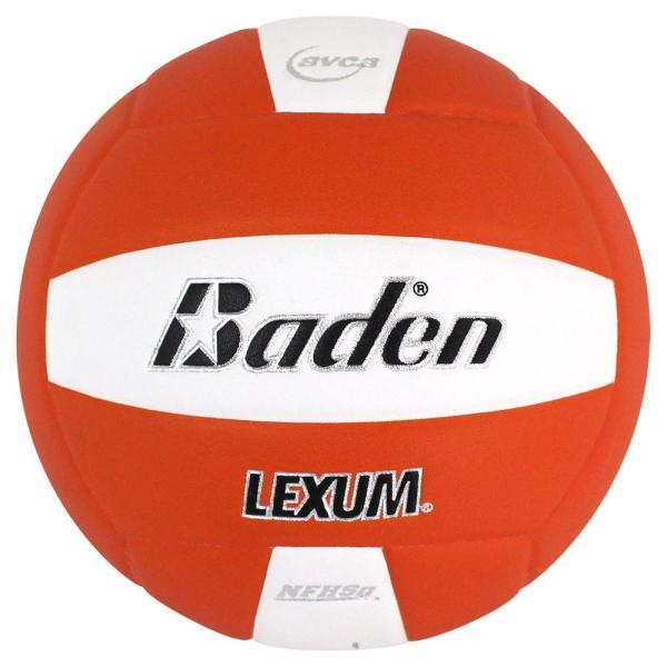 Baden Lexum Microfiber Volleyball Orange White