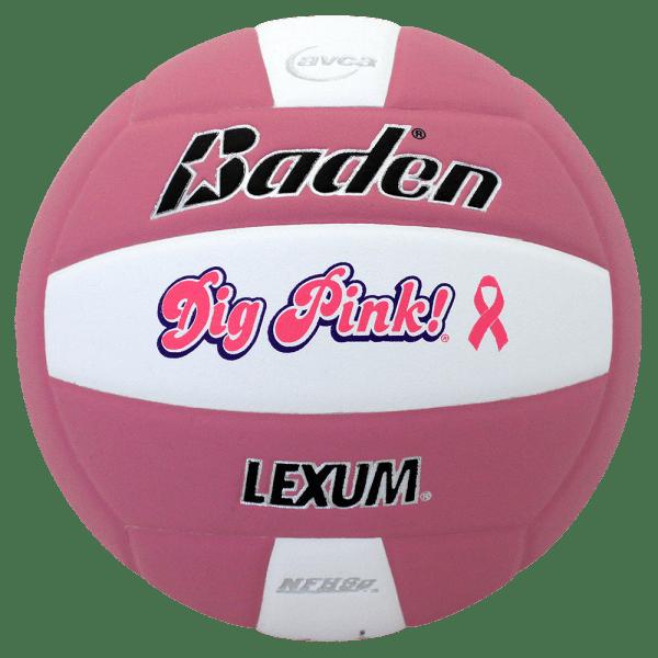 Baden Lexum Microfiber Volleyball Pink White