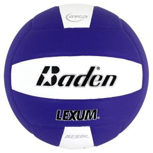 Baden Lexum Microfiber Volleyball Purple White