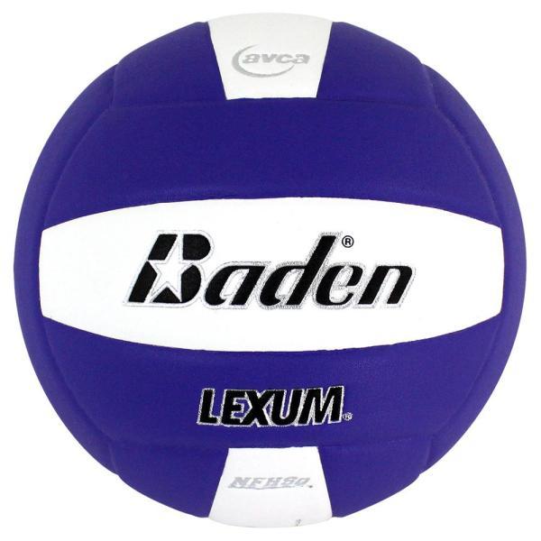 Baden Lexum Microfiber Volleyball Purple White