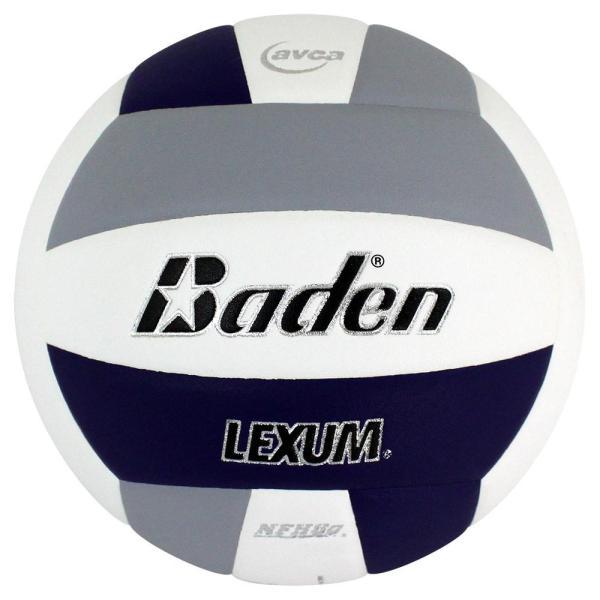 Baden Lexum Microfiber Volleyball Purple White Grey