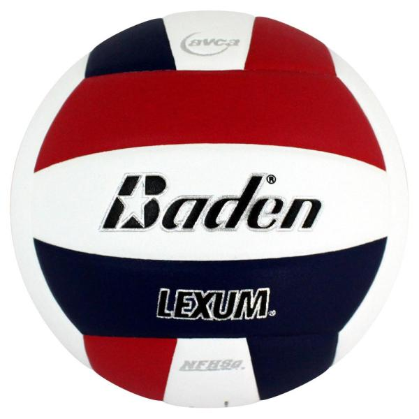 Baden Lexum Microfiber Volleyball Red White Navy
