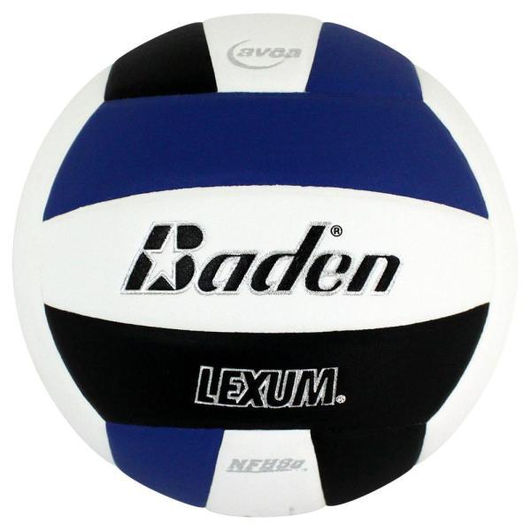 Baden Lexum Microfiber Volleyball Royal White Black