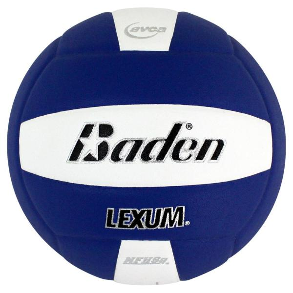 Baden Lexum Microfiber Volleyball Royal White