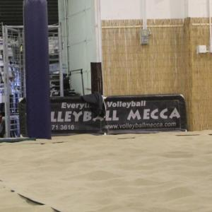 Printed Volleyball Courtside Banners