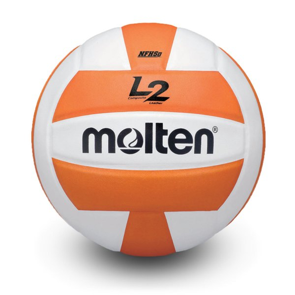 Molten L2 Microfiber Composite Club Ball Orange White