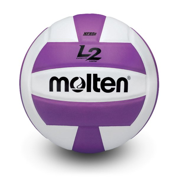 Molten L2 Microfiber Composite Club Ball Purple White