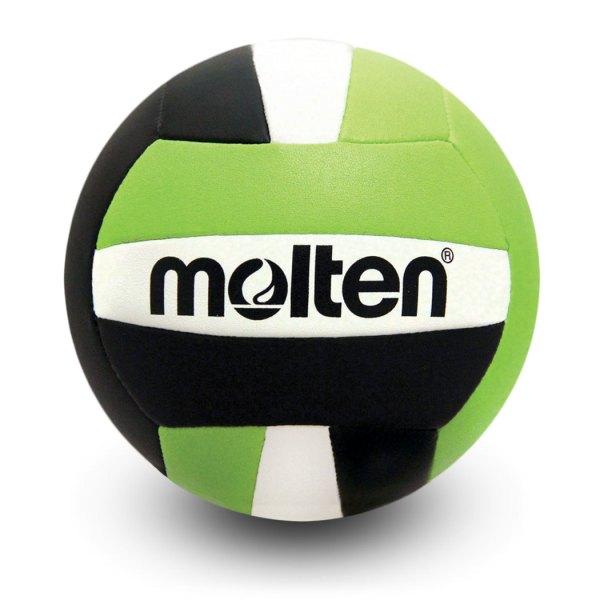 Molten Mini Volleyball Black Lime