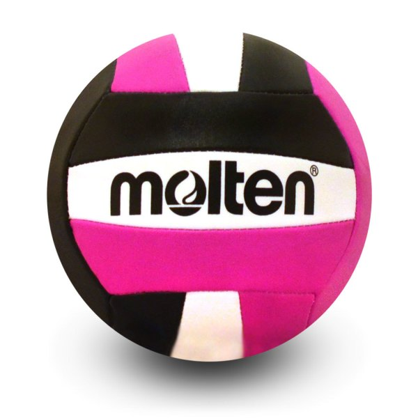 Molten Mini Volleyball Black Pink