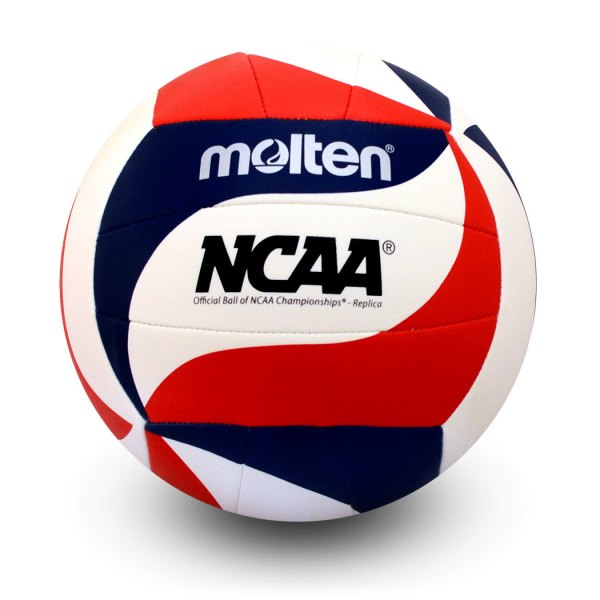 Molten Mini Volleyball Red White Blue Swirl