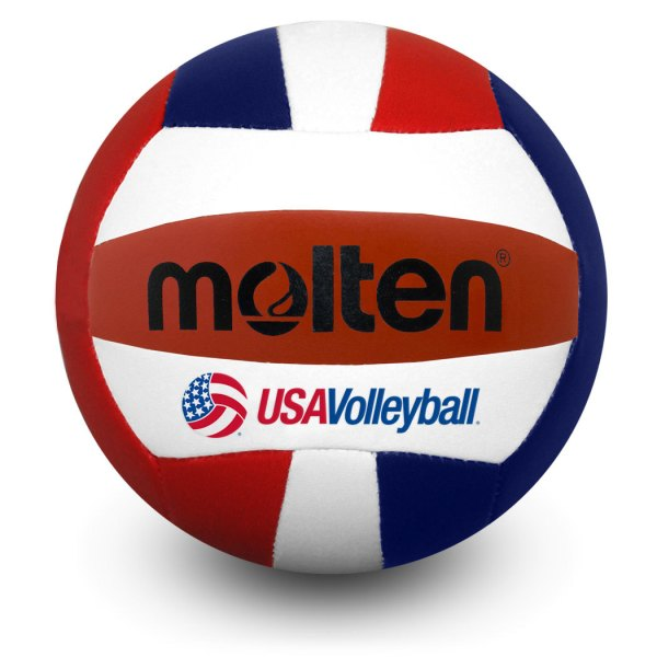 Molten Mini Volleyball Red White Blue USAV