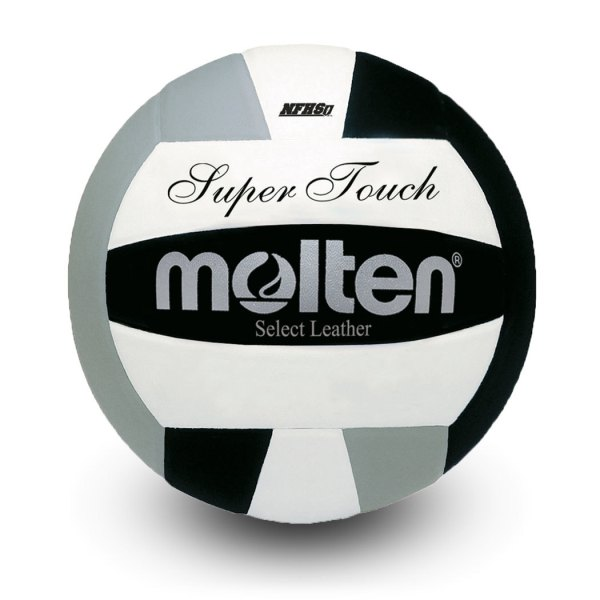 Molten Super Touch Volleyball Black Silver